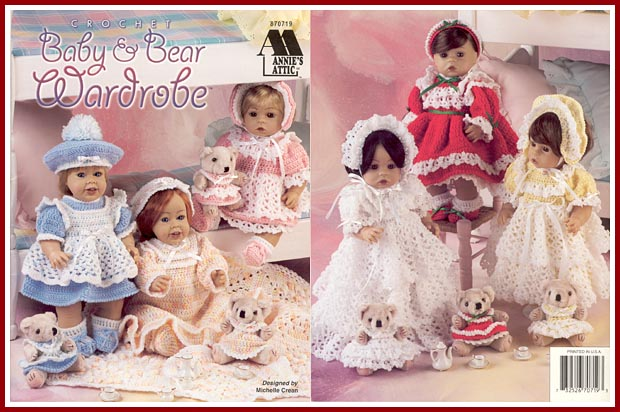 Treasured Heirlooms Crochet Catalog Of Doll And Accessory Pattern