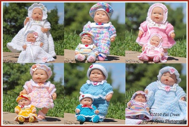 Treasured Heirlooms Crochet Donna Rayes Dolls