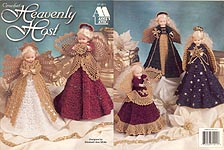 Annie's Attic Heavenly Host angel dolls
