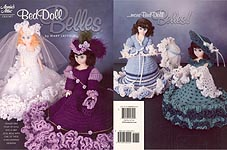 Annies Attic Bed Doll Belles for 15 inch craft dolls