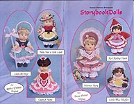 Annie Potter Presents: Storybook Dolls, outfits sized for 6-3/4 inch, 7-1/2 inch, and 8 inch little girl dolls