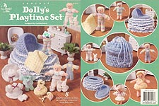 Annie's Attic Crochet Dolly Playtime Set