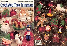 Leisure Arts Crocheted Tree Trimmers