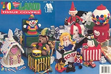 Annie's Attic Toyland Tissue Covers