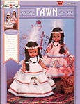 Fibre-Craft Fawn, Native American dresses for air freshener dolls