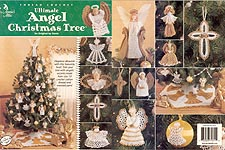 Annie's Attic Ultimate Thread Crochet Angel Christmas Tree