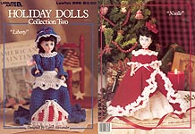 Leisure Arts Holiday Dolls, Collection Two