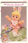 Annie's Attic Bunny Baby 12-in soft sculpture doll.