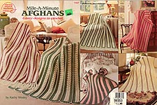 American School of Needlework Mile-A-Minute Afghans