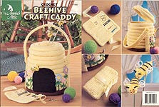 Annie's Attic Crochet Behive Caddy