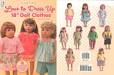 Love To Dress Up 18 inch Doll Clothes to Sew