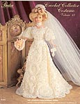 Paradise Publications 1901 Jeweled French Bridal Gown
