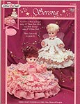 Angel Dolls Crochet Patterns 13 inch Doll Dress Book