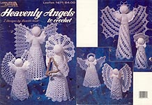 Leisure Arts Heavenly Angels to Crochet