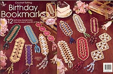 Annies Attic Birthday Bookmarks