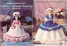 Leisure Arts Ladies of Colonial America. Book 1 (15 inch dolls)