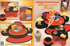 Fashion Doll Home Decor Crochet Collectors Guild: BEDROOM JAZZ