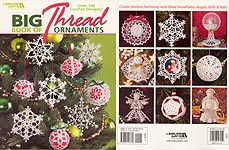 Leisure Arts Big Book of Thread Ornaments