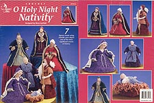Annie's Attic O Holy Night Nativity