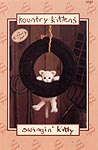 Annie's Attic Kountry Kittens: Swinging Kitty