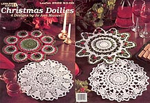 Leisure Arts Christmas Doilies