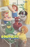 Annie's Attic Bobblers stuffed doll and animals