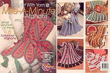 Annie's Attic Cro-Tat With Yarn Mile-A-Minute Afghans