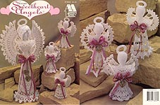 Annie's Attic Crochet Sweetheart Angels
