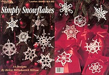 Leisure Arts Simply Snowflakes