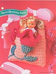 Annies Fashion Doll Crochet Club: Sweet Blossoms Purse
