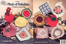 Free Crochet Pot Scrubber Pattern and Instructions