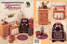Fashion Doll Home Decor Crochet Collectors Guild: Country Kitchen
