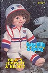 Annie's Attic Baby Billy Jumpsuit and Helmet