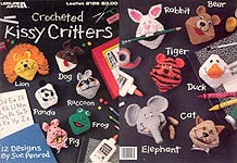 Leisure Arts Crocheted Kissy Critters