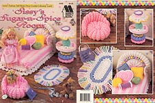 Fashion Doll Home Decor Crochet Collectors' Guild: SISSY'S SUGAR- N- SPICE ROOM