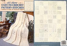 Heirloom thread crochet - multiple motifs - illustrated crochet