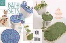 Toilet Tank Tray  Seat Cover | Free Crochet Patterns
