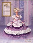Annie Potter Presents the 1997 Master Crochet Series: The Royal Ballgowns -- Miss January