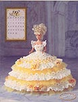Annie Potter Presents the 1997 Master Crochet Series: The Royal Ballgowns -- Miss April