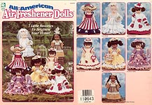 House of White Birches All-American Air Freshener Dolls