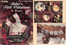Leisure Arts Baby's First Christmas to Crochet (2349)