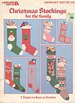 Leisure Arts Christmas Stockings for the Family