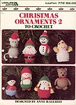 Leisure Arts Christmas Ornaments 2 to Crochet