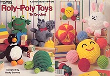 Leisure Arts Roly-Poly Toys to Crochet