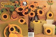 gs2388 annieu0027s attic sunflower kitchen set