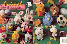 Annie's Attic Crochet Animal Egg-stravaganza