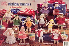 ASN Birthday Bunnies in Thread Crochet