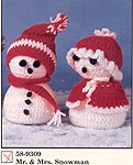 Herrshcners Mr . & Mrs. Snowman