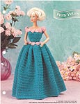 Annie's Fashion Doll Crochet Club: Pretty Petals