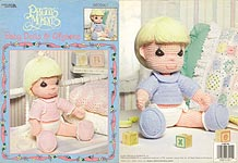 LA Precious Moments Baby Dolls & Afghans to Crochet